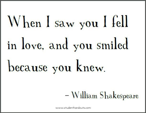 William Shakespeare Love Quotes Google Search