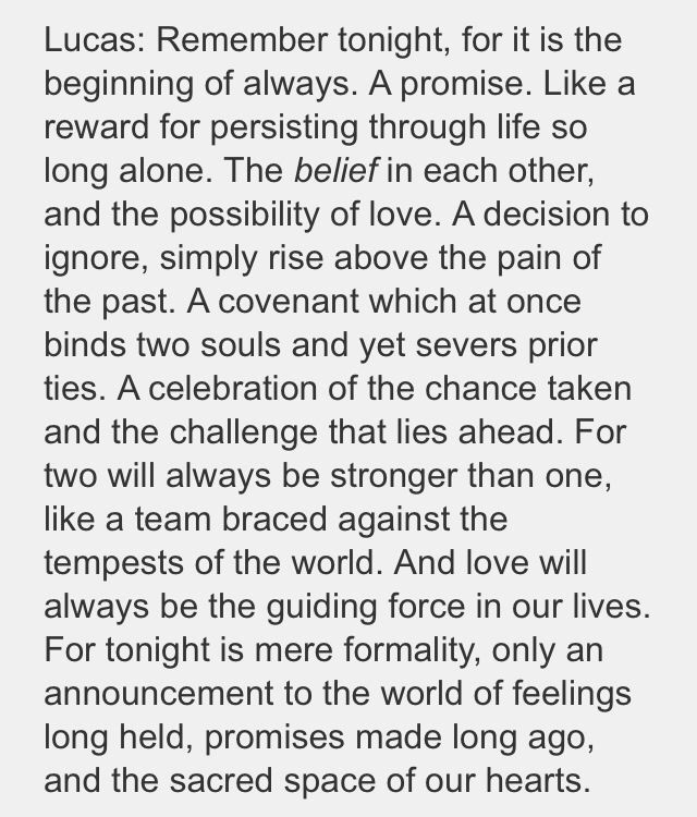 One Tree Hill Love Quotes Wedding Hover Me