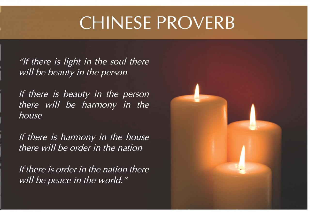 Chinese Proverb Only Jpg