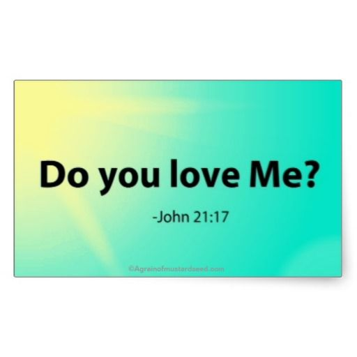 Do You Love Me Easter Bible Quotes Stickers Agrainofmustardseed Getwiththeword