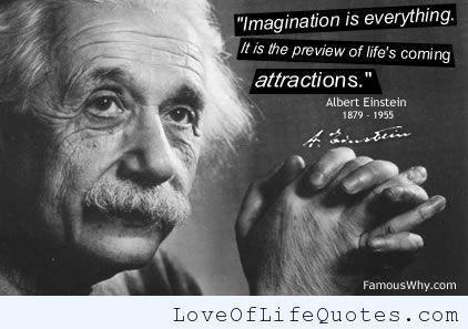 Albert Einstein Quote On Imagination Http Www Loveoflifequotes Com