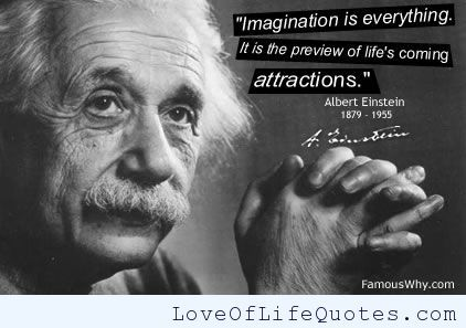 Inspirational  C B Albert Einstein Quote On Imagination Http Www Loveoflifequotes Com