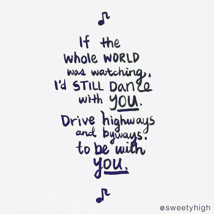 Oh My Gosh I Freaking Love This Love Song Lyrics Quotesdance