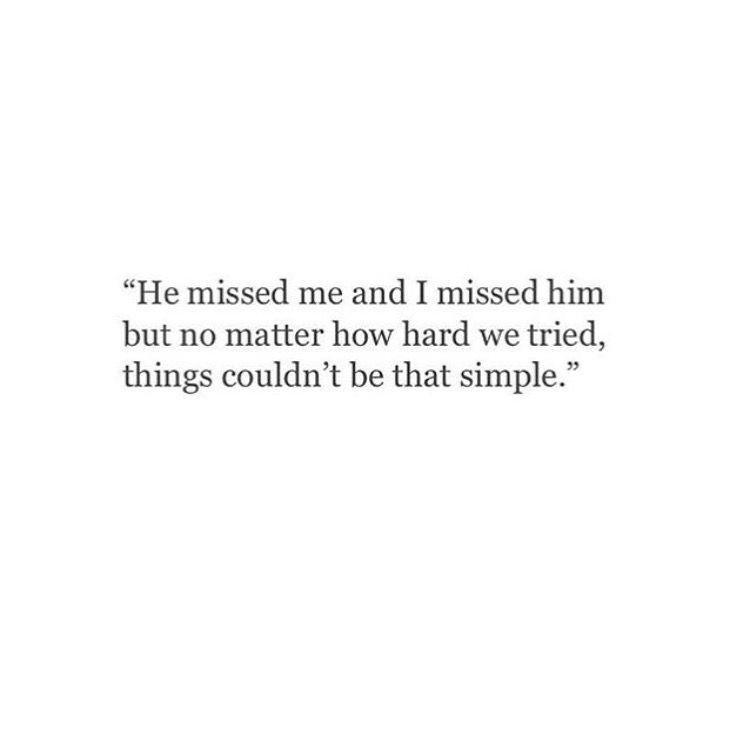 Sad Love Quotes Life Isnt That Simple