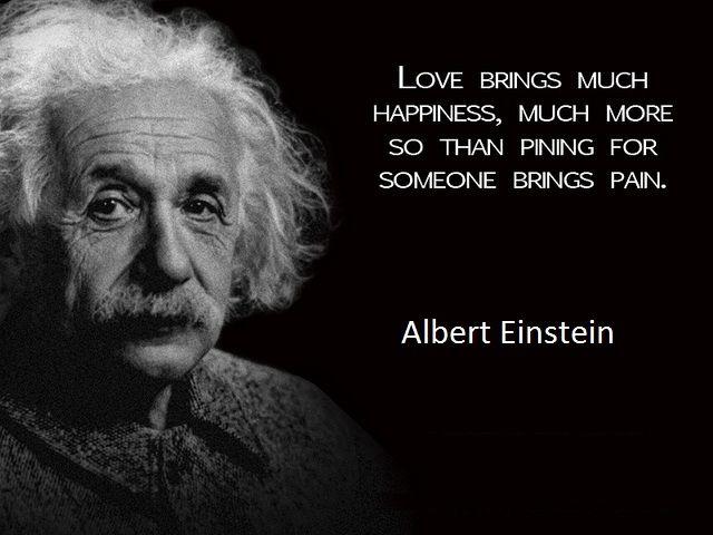 Best Albert Einstein Quotes About Love