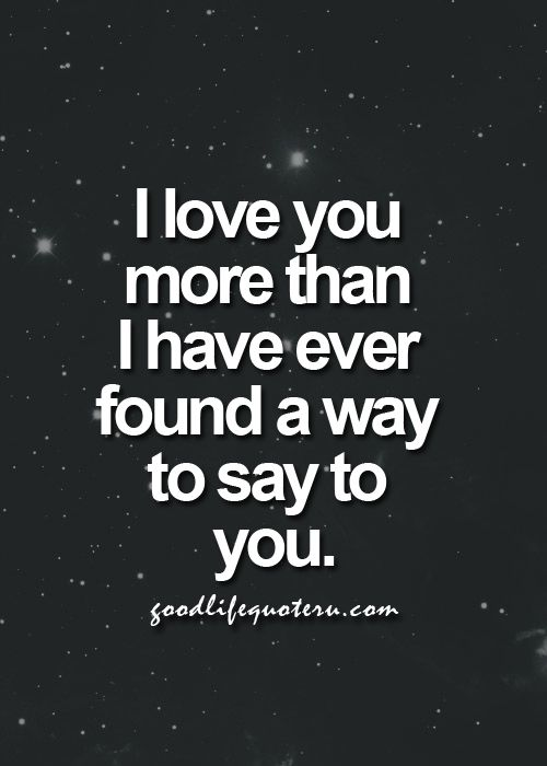 I Love You More Than You Know I Thank For You Because Saved My Life True Story