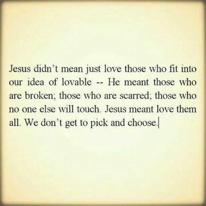 Love Them Like Jesus