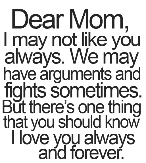 Dear Mom Mother Daughter Quotes