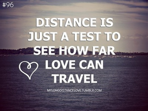 Love Distance Quotes Tumblr