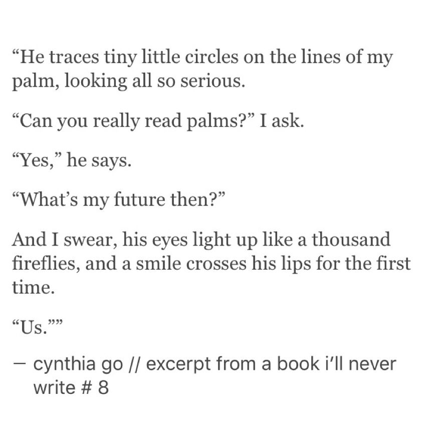 Excerpt From A Book Ill Never Write Cynthia Go Tumblr Love