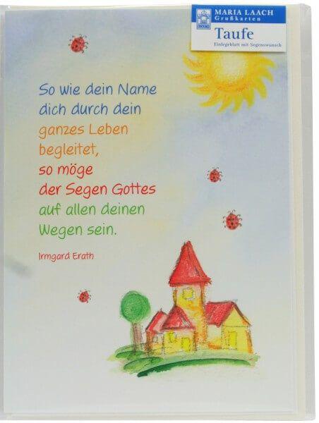 Karte Zur Taufe Auf Allen Deinen Wegen Deko Pinterest Karte Zur Taufe Zur Taufe Und Deins