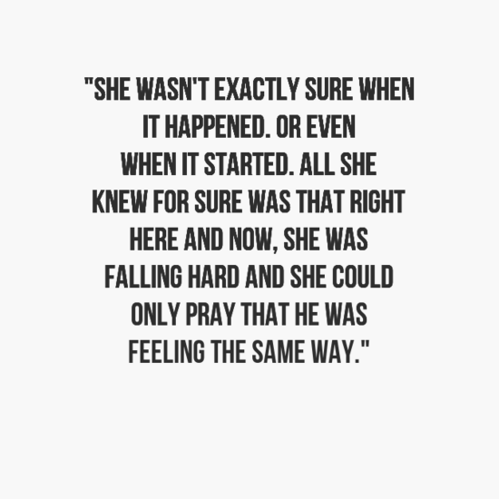 Best Love Quotes About Falling In Love