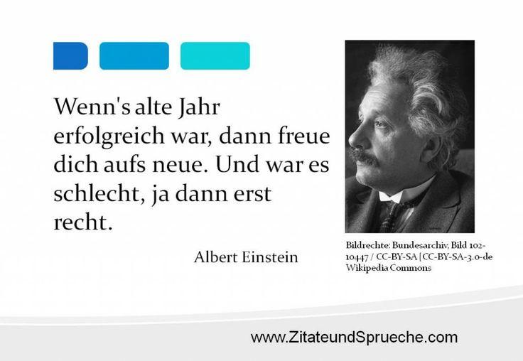 Tolles Zitat Von Albert Einstein Zum Jahreswechsel