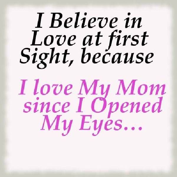 I Love You Mom Quotes From Daughter Wow What A Way To Start My