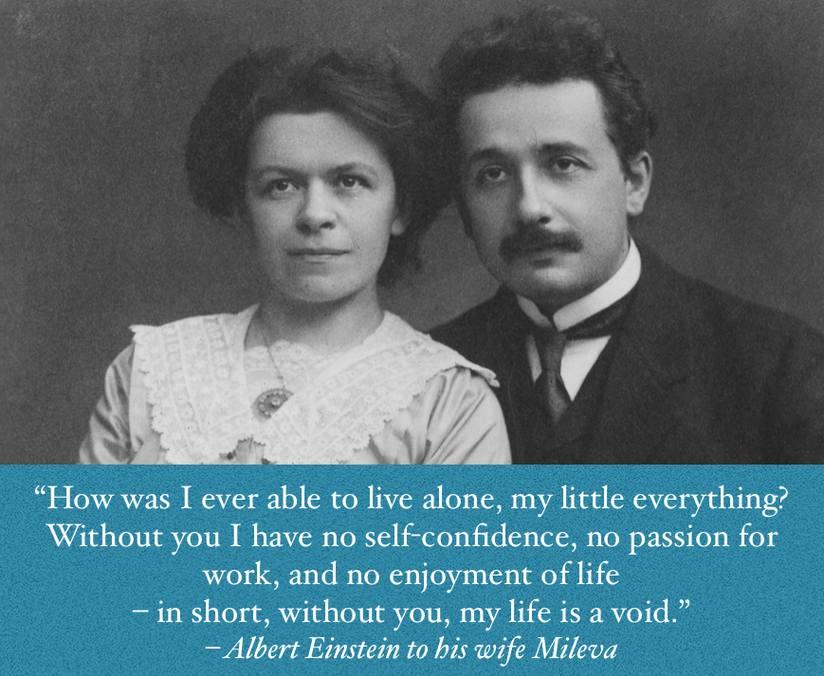 Albert Einsteins Wise Words About Love