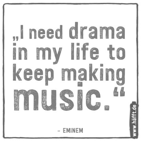 Ich Brauche Drama In Meinem Leben Um Weiter Musik Machen Zu Konnen