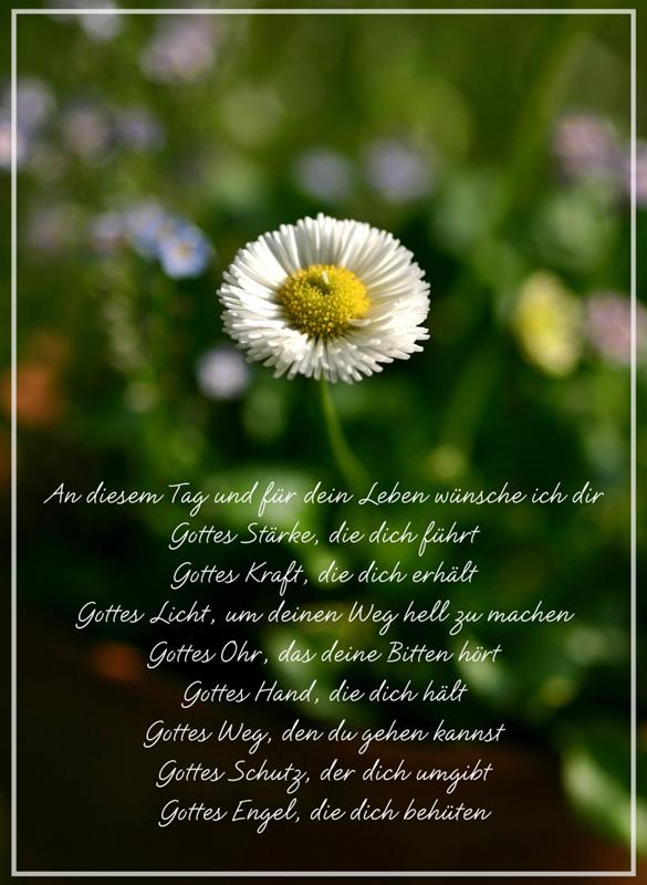 Irischer Segenswunsch Fur Taufe Konfirmation Kommunion Geburtstag