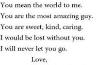 P O Quotes  C B Romantic And Cute Love Quotes For Your Boyfriend