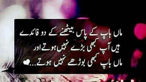 Love You Always Momma And Abbu  C B Urdu Quotesqoutesmeaningful