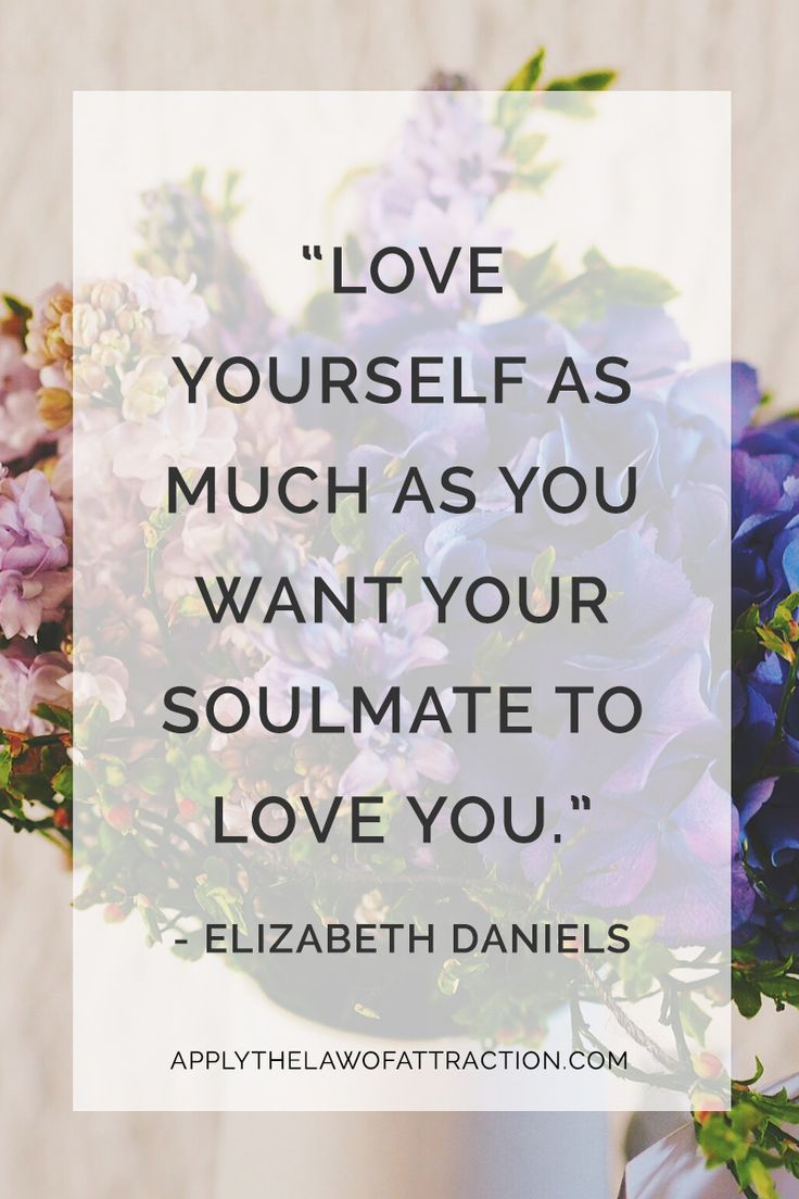How To Love Yourself More And Find Your Soulmate Too