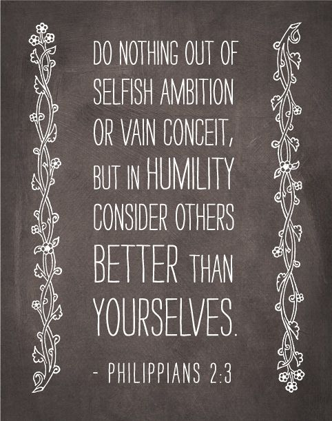 Philippians  Selfish Family Quotesselfless Quotesfamily Bible