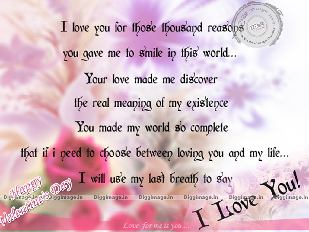 For Him On Valentines Day Valentines Day Quotes For Him