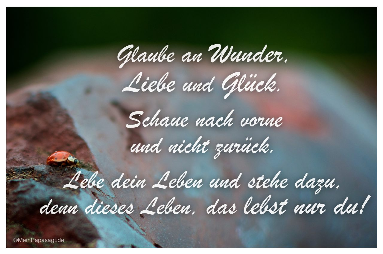 Gluck Zitate Spruche Poolvogel