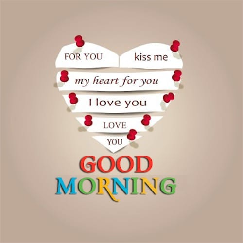 Good Morning Quotes For Her Kiss