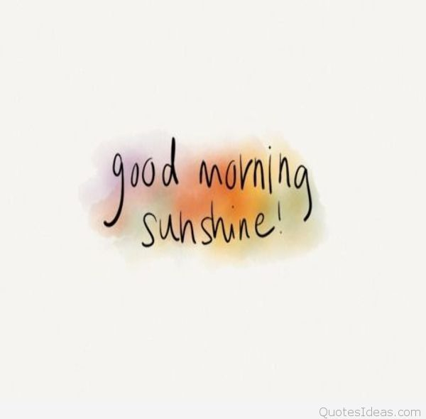 Goodmorning Sunshine Love Typography Art Font Writing P Ography