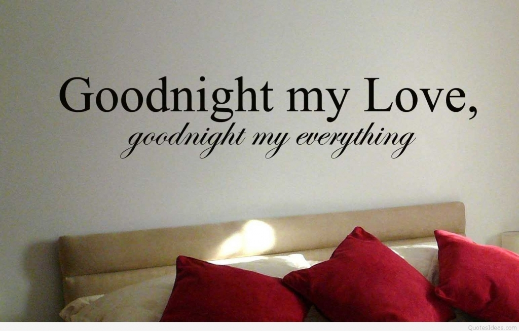 Goodnight My Love Quote Goodnight My Love Quote Picture Saying
