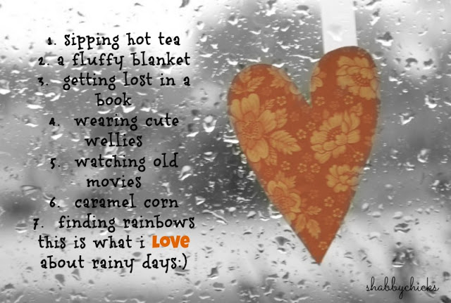From Suzanne Shabbychicks Comfort And Joy On A Rainy Day