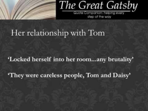 Daisy Buchanan Quotes Andysis Quotes From The Great Gatsby