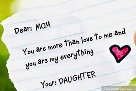 I Love My Mom Quotes From Daughter