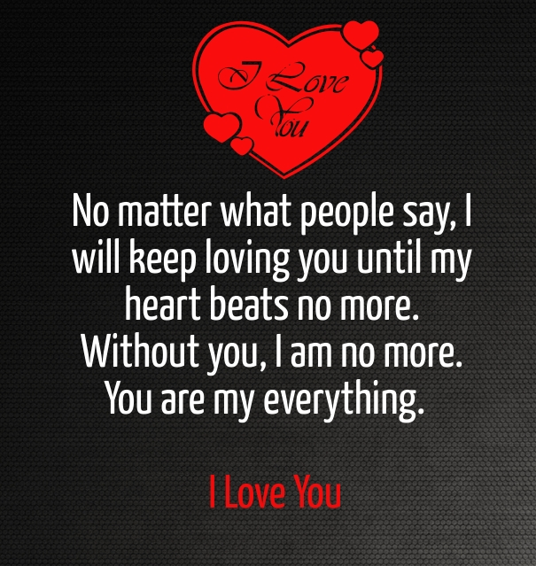 I Love You Quotes For Him