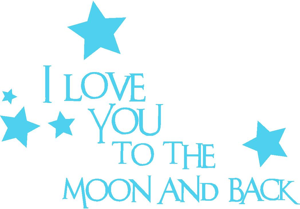 Girl Quotes Baby Boy Quotes I Love You To The Moon And Back Nursery Wall Quote