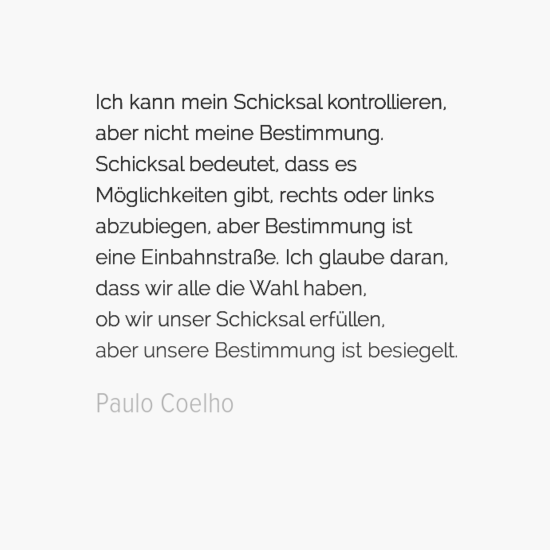 Paulo Coelho Ichkannmeinschicksalkontrollierencaabernichtmeinebestimmungaschicksalbedeutetcdassesamcbglich Default