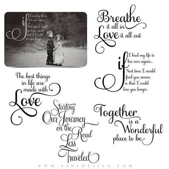 Love Word Art Quotes P O Overlays For S Booking Our Journey  Custom Quotes For Your P Ographs And Quick Pages
