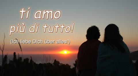 Italienisch Ti Amo Liebe
