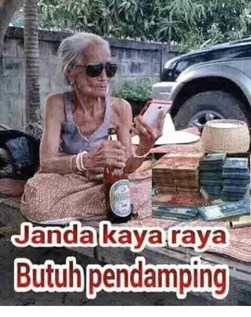 Memes F F A And Kaya Janda Kaya Raya Butuh Pendamping