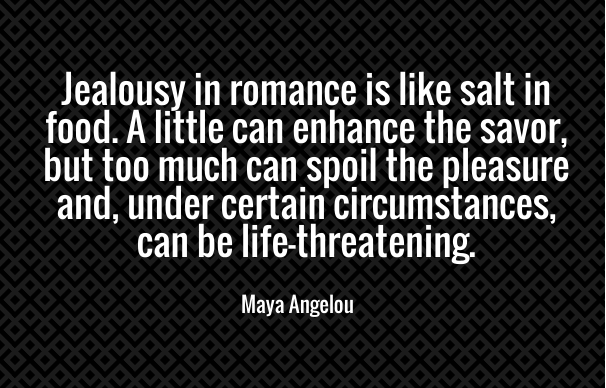 Jealousy In Romance Quotes