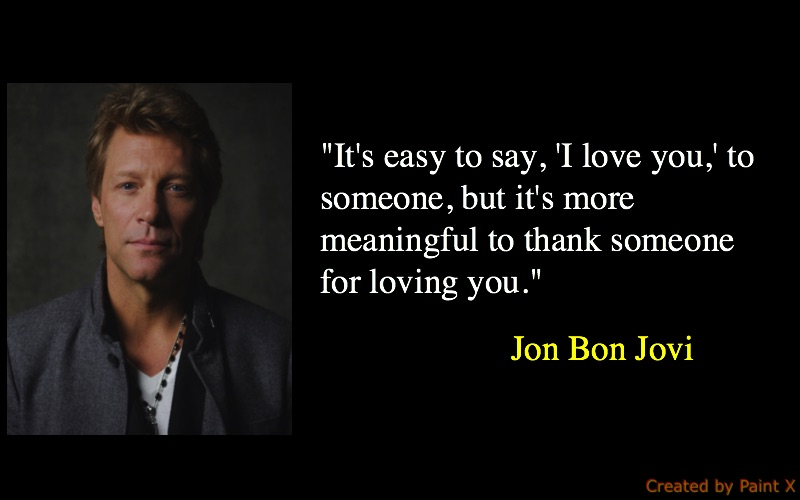 Significant Jon Bon Jovi Quotes