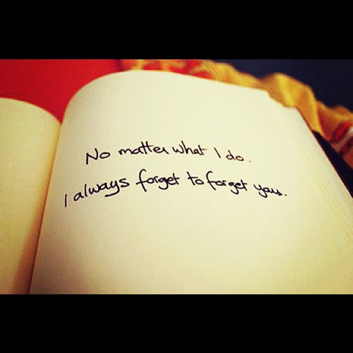 Quote Love And Forget Image