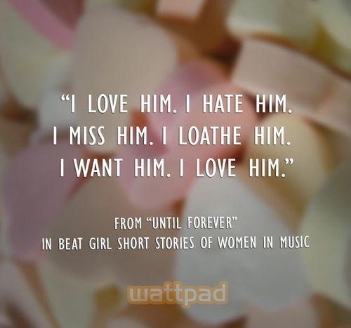 Quote Wattpad And Love Image