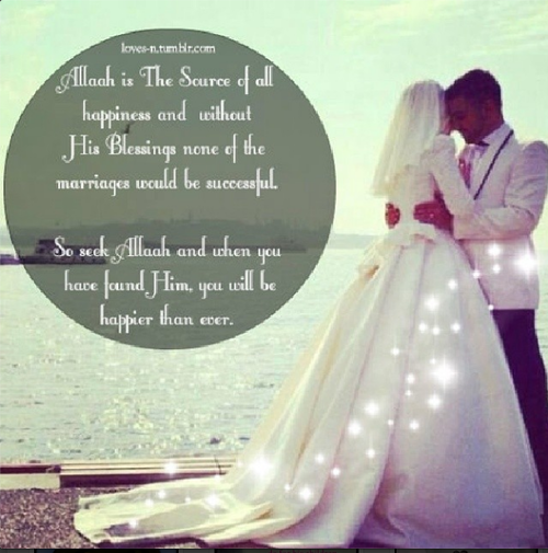 Islam Muslim Couple And Marriage Image