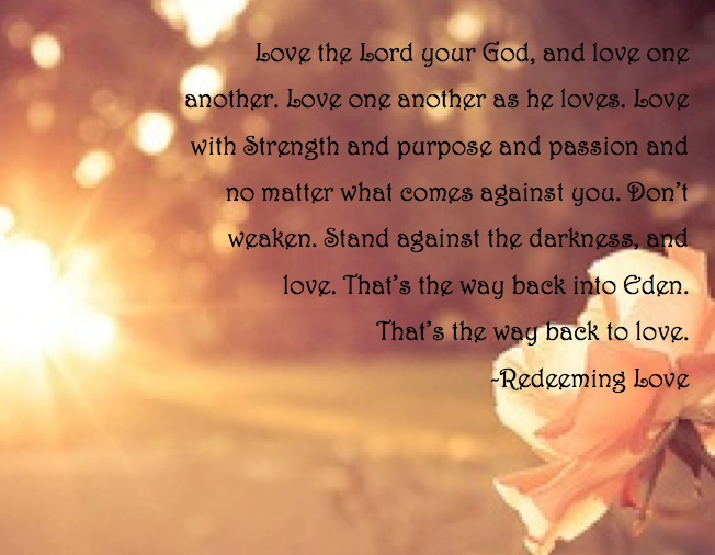 As The Quote Says Description A Quote From The Book Redeeming Love