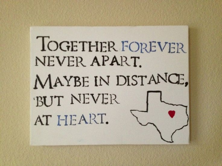 Long Distance Love Quote Picture Quote