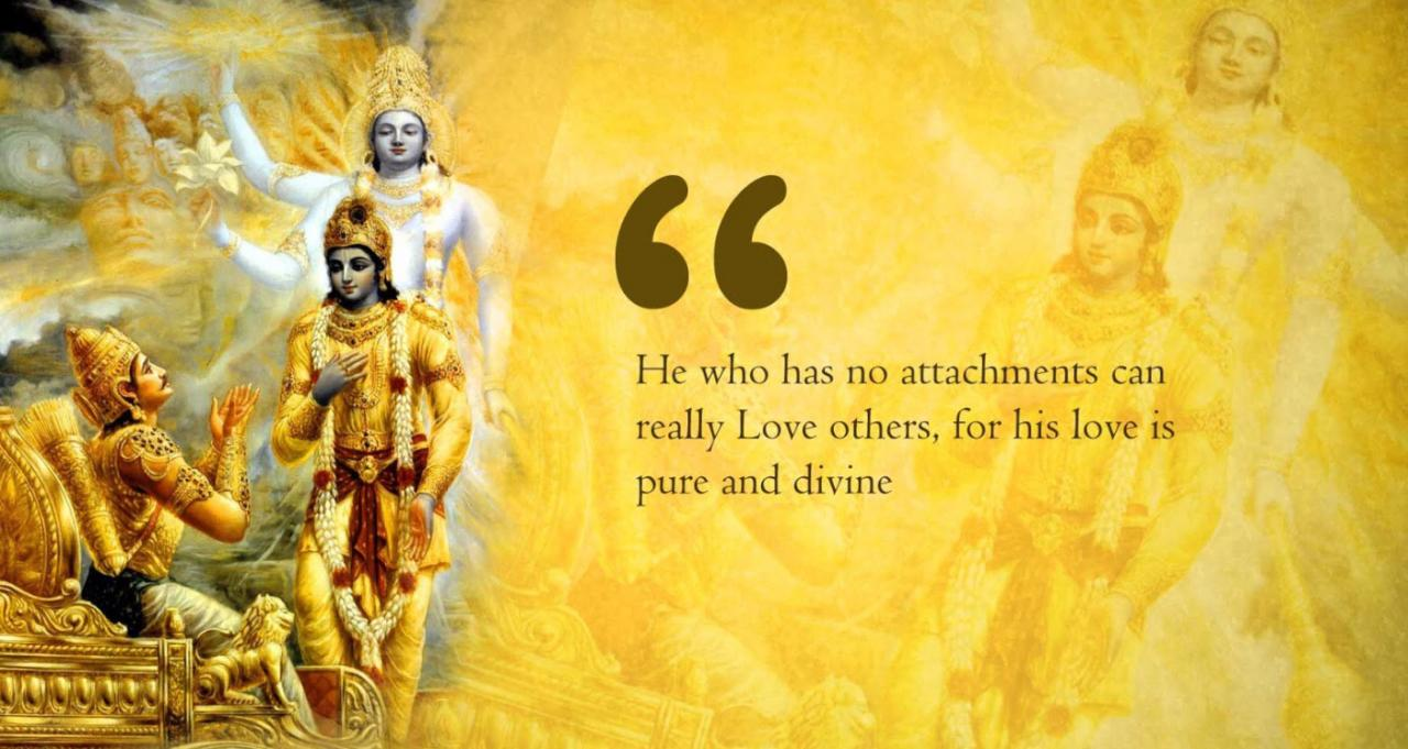 Lord Krishna On Love