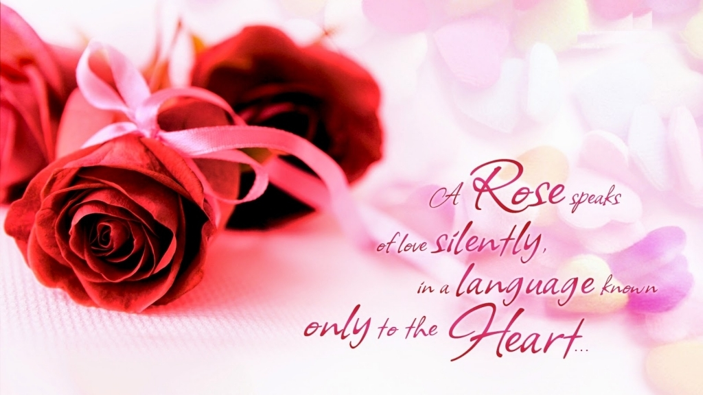 Love Quotes And Flowers Beautiful Love Quotes For Her With Rose Flower Images Pixhome