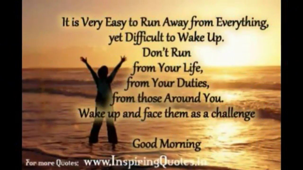 Good Morning Motivational Quotes Inspiration Quotes Message Sms Hd Images You
