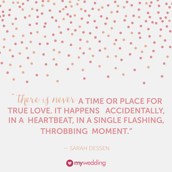 Sarah Dessen Quote About Finding True Love